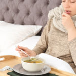 Chicken broth, powerful anti-inflammatory against flu and cold