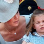 Kate Middleton, because her daughter Charlotte is identical to Queen Elizabeth