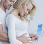 The intimacy of a couple during pregnancy