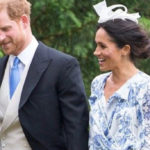 Meghan Markle at the wedding of Lady Diana's granddaughter. The 4,500 euro look disappoints