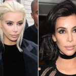 Kim Kardashian shock: new platinum blonde tint at the Paris fashion shows