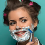 Women, shaving fights wrinkles: the new shocking beauty trend
