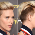 Shaved and bad: undercut for everyone. Also for mom Scarlett Johansson