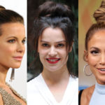 "The ""harvest"" is in fashion: all crazy about the chignon. Star and beyond"