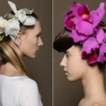 Flowers, biting weaves and naturalness: the hairstyles for the s / s