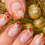 Party nails: nail polishes for Christmas and New Year