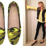 Camouflage or studded ballet flats: how the mother's shoe is renewed