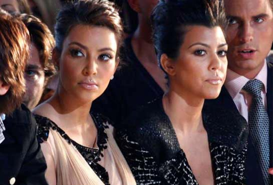 Kim and Kourtney, there is jealousy between the Kardashian sisters