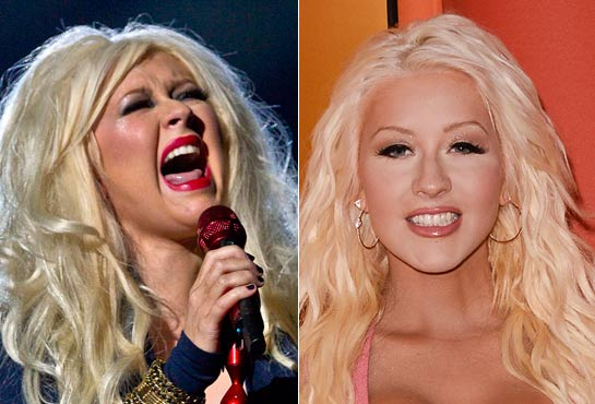 Christina Aguilera's miraculous diet: so she came back thin