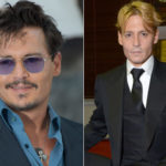 Desperate admirers for Johnny Depp's new header