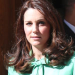 Kate Middleton in mint green: in pregnancy the belly has grown out of all proportion