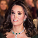 Kate Middleton at Bafta, doll make-up does not convince