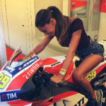 "Andrea Iannone on Belen Rodriguez: ""When one has a great cu * o"""