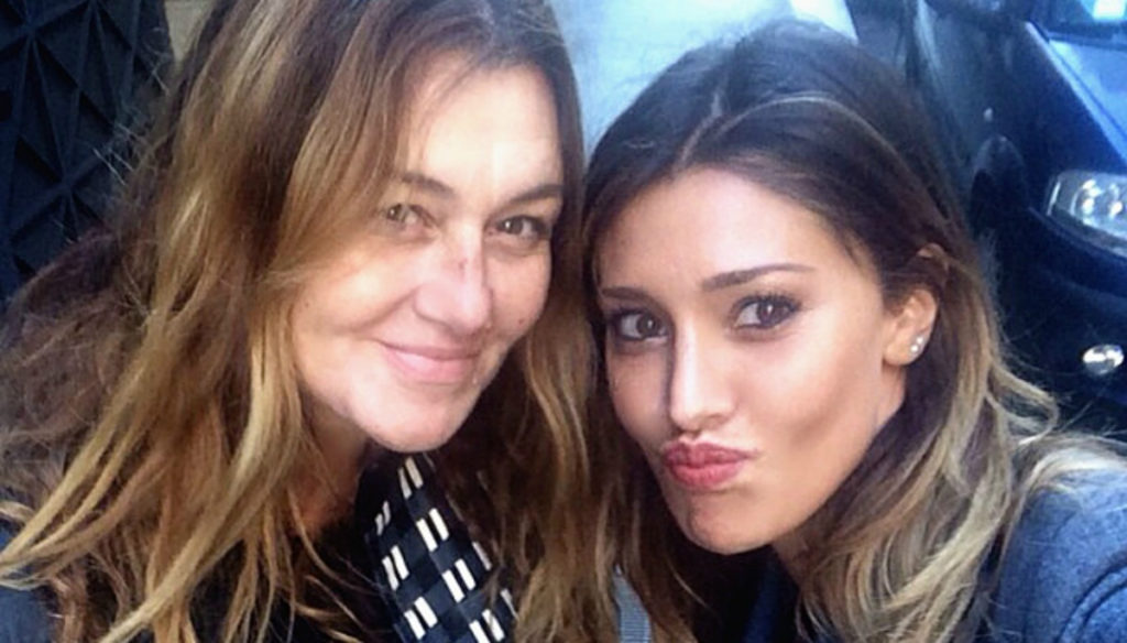 Belen Rodriguez The Mother Veronica Accused Of Saying Goodbye To De Martino