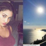 Belen escapes to Greece with a mysterious man