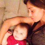 Belen model mother: no nanny or help for little Santiago