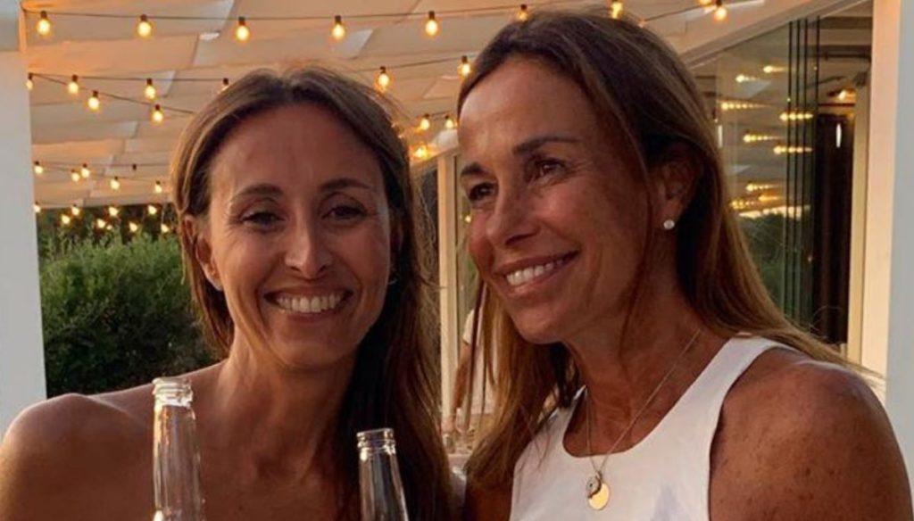 Benedetta Parodi, super birthday party (with her sister Cristina)