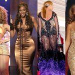 Beyoncé gets stiff