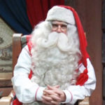 Bimbo dies in the arms of Santa Claus: a moving story