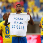 Boateng dedicates the goal to the victims of the earthquake, but is fined