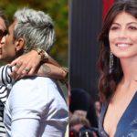 Chiara Ferragni in Venice: leather and kiss shorts. Unbeatable Alessandra Mastronardi