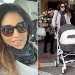 Fanny Cadeo single mom at 43: here she is with her daughter Carol