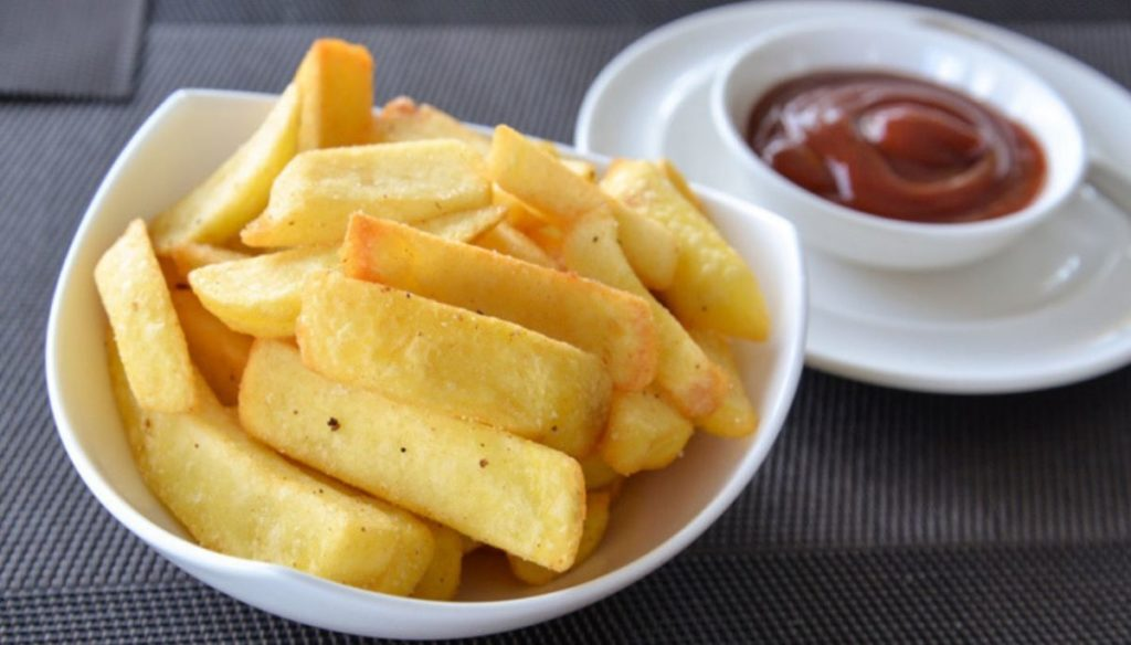 French fries, what do you risk if you eat too many