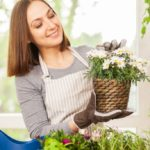 Green well-being: happiness comes from contact with plants and flowers