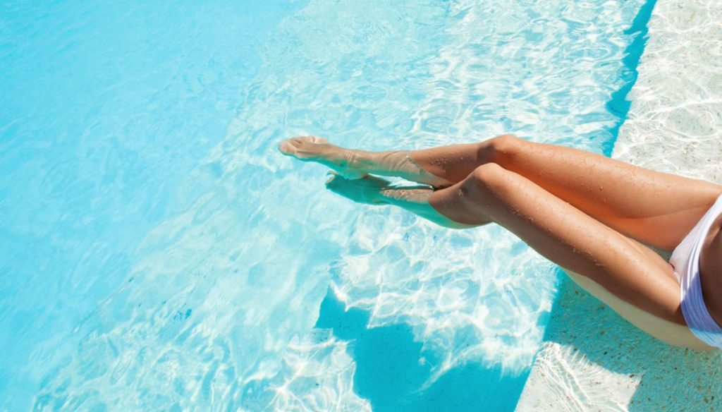 Heavy legs and hot temperatures: the remedies