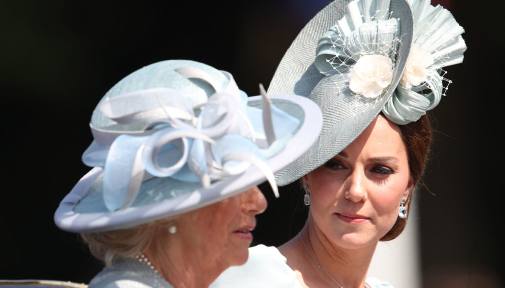 Kate Middleton, because she could become queen instead of Camilla