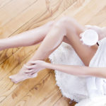 """Legs: the routine to avoid the """"snake skin"""" effect"""