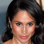 Meghan Markle looks wrong and shows off her belly