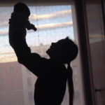 Michelle Hunziker: the first time of the little Sun on Twitter