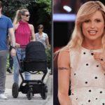 Michelle returns from maternity leave: the Hunziker in the Chiambretti supermarket