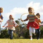 Outdoor games for children: the park
