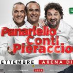 Panariello, Conti and Pieraccioni for Airc against pediatric tumors