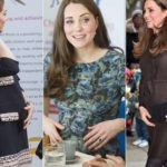 Pregnant Kate takes a few pounds and finally sees her tummy. Photo