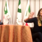 Referendum, Boschi loses patience with a lady of the public