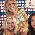 Sabrina Ferilli surprised by Mara Venier at Domenica Live