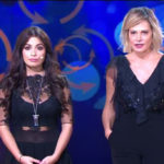 Selfie: Simona Ventura and the dispute between Paola Caruso and Alessia Macari