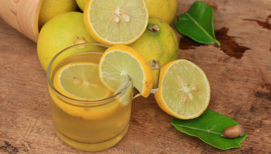 The lemon diet: lose weight and deflate in a week
