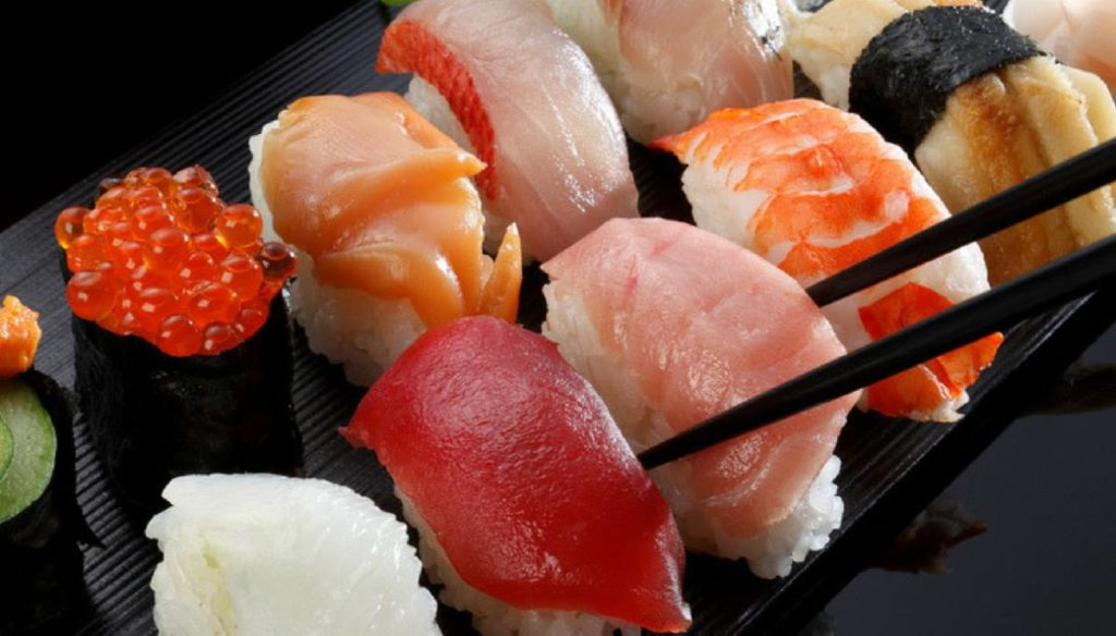 The sushi diet for weight loss without sacrificing taste