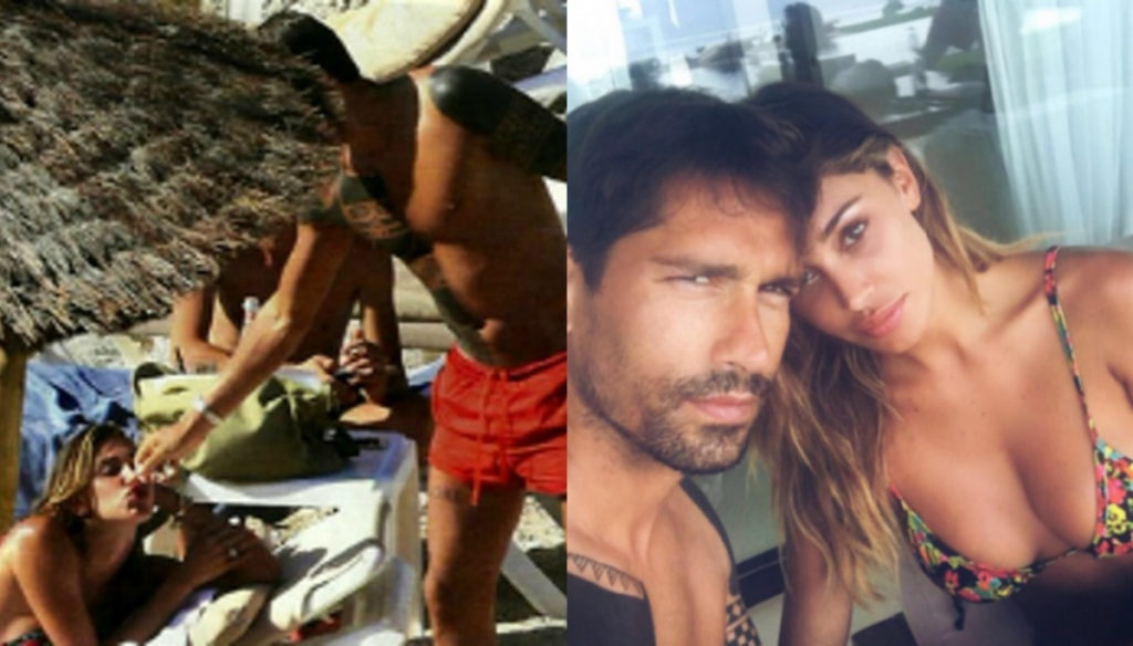 Belen Rodriguez and Marco Borriello together in Ibiza: The new photos