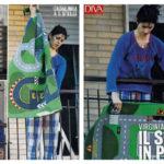 "Virginia Raggi ""one of us"": housewife in pajamas"