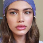 Valentina Sampaio, the first transgender model on the cover of Vogue