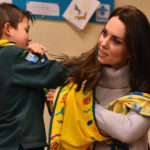 Kate Middleton among the scouts enchants everyone with the casual look