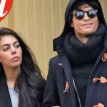 Cristiano Ronaldo paparazzato with his new girlfriend in Paris