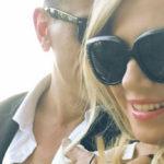 Federica Panicucci and Marco Bacini in love in Portofino