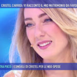 Cristel Carrisi insults Barbara D'Urso but then goes to Sunday Live