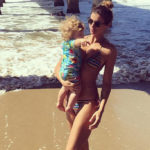 Elisabetta Canalis mother: the bikini photo conquers the web